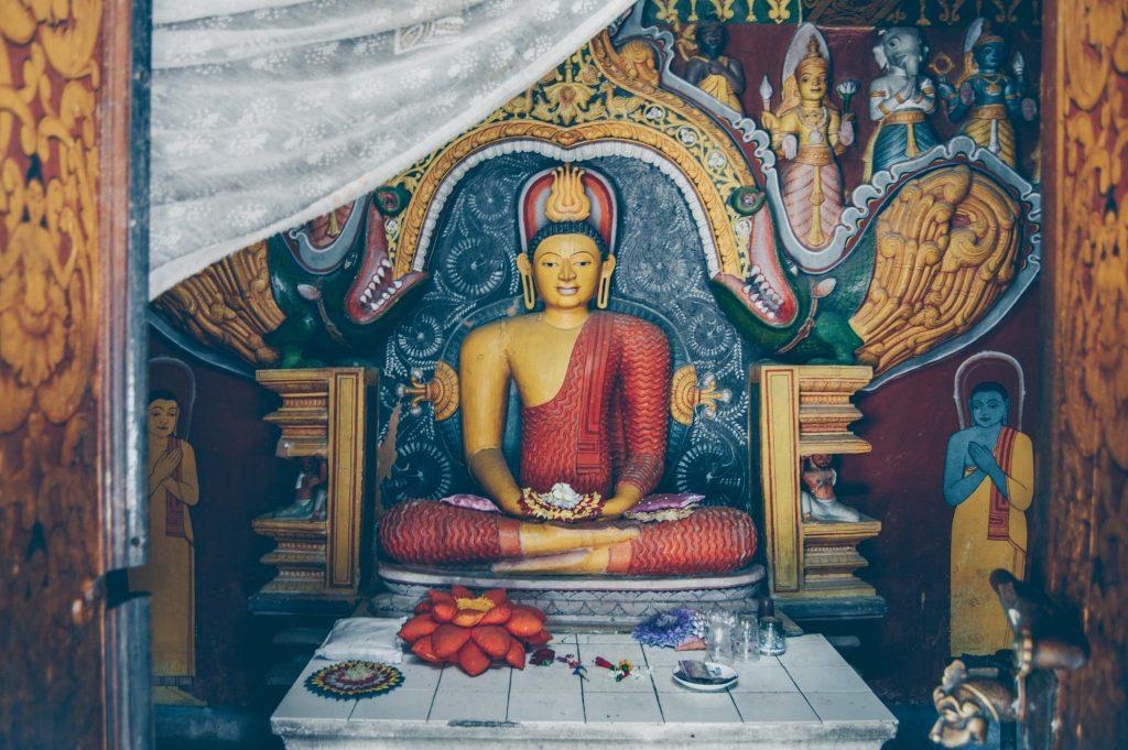 храмы канди