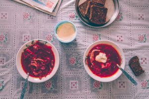borsch russian soup