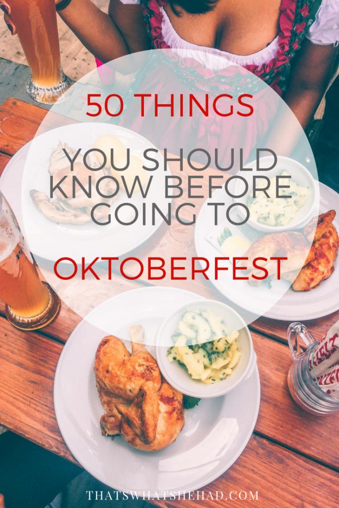 Oktoberfest munich tips