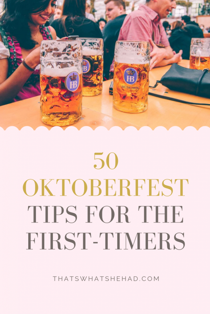 Visiting Oktoberfest in Munich for the very first time? Fear not! Here's everything you need to know: from the location to prices to food and drink choices to the best outfits you can wear! Oktoberfest couldn't be any easier with these tips! #Oktoberfest #Munich #Germany #OktoberfestMunich