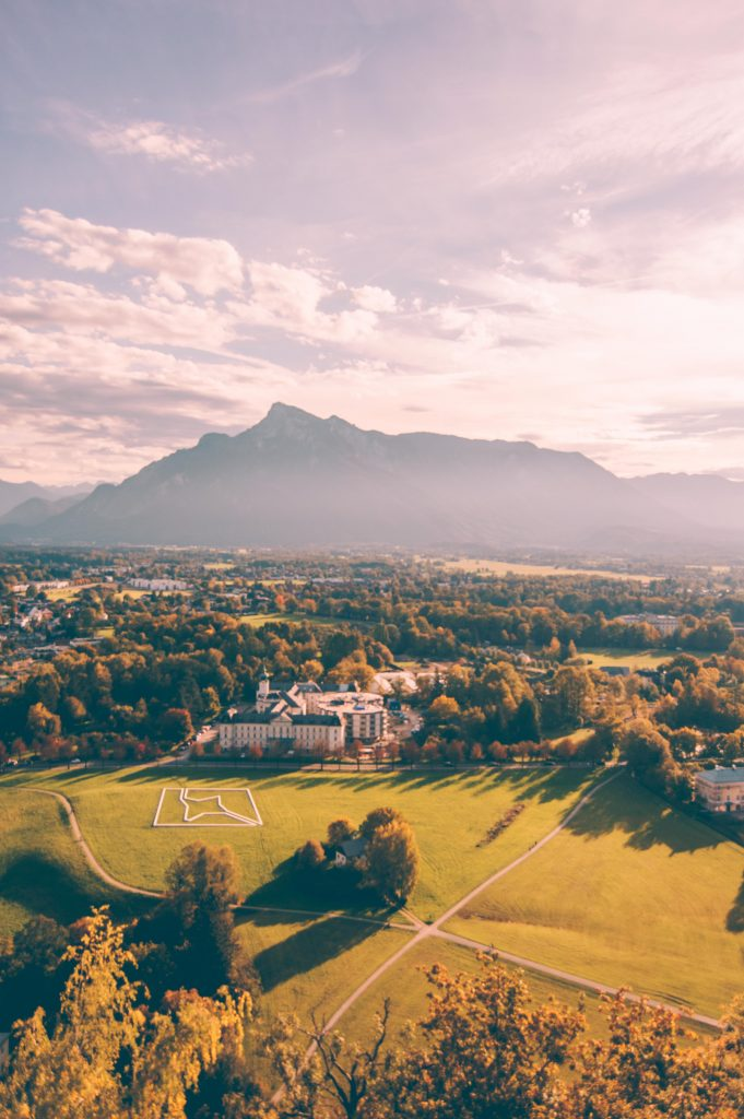 the view from hohensalzburg