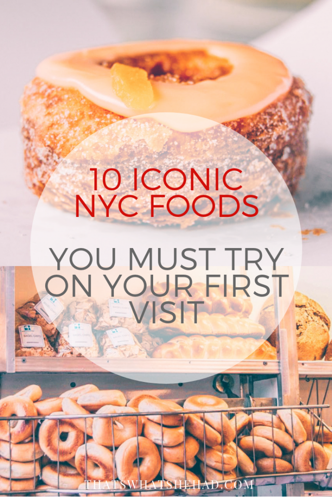 10 Iconic NYC restaurants you should visit on your first trip to NYC (and what to order there)! #nyc #nyceats #newyork #nycfood