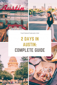 A weekend guide to Austin, TX: what to do, where to eat and best places to stay! #Texas #Austin #AustinTX #weekendgetaway #AustinGuide