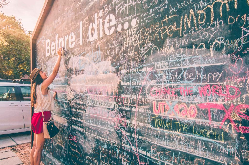 before I die wall-dustin