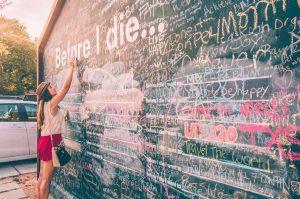 before I die wall-dustin