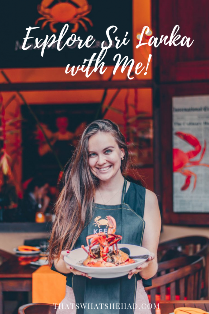 Come explore Sri Lanka with me! After 8 years of living on the island I am sharing my favorite little gems on a food tour of Sri Lanka! Click on pin to check all details! #srilanka #srilankatour