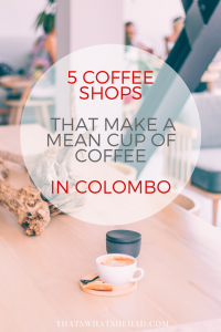 where to get good coffee colombo