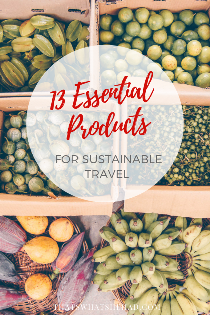 Essential eco travel products for environmentally conscious traveler! #ecotravel #ecotravelproducts #ecofriendlytravel