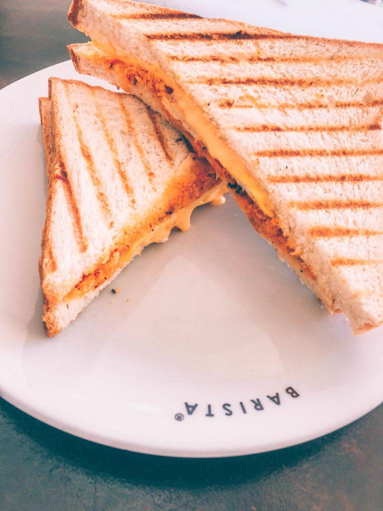 barista pol sambol sandwich