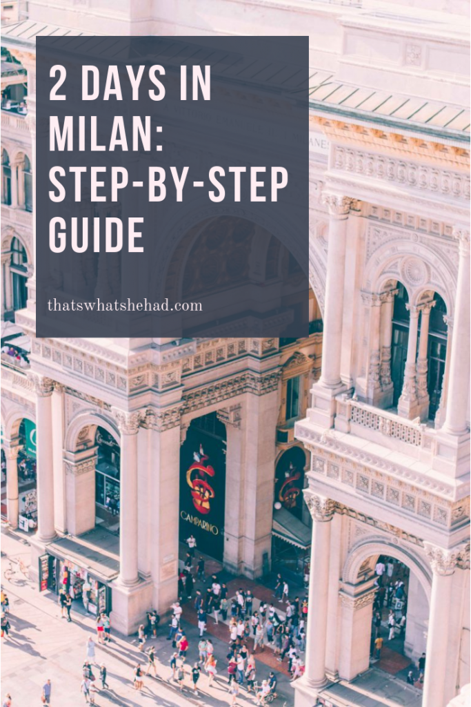 2 days in Milan, Italy! Wondering what to do and where to eat if you only have a few days in Milan? Here's my custom step-by-step guide on how to spend 2 days in Milan (or 3 days if you have a little more time): major attractions, best foods to try, and a few hidden gems. Click on pin to read or save for later! #Milan #MilanItaly #MilanGuide #MilanItinerary