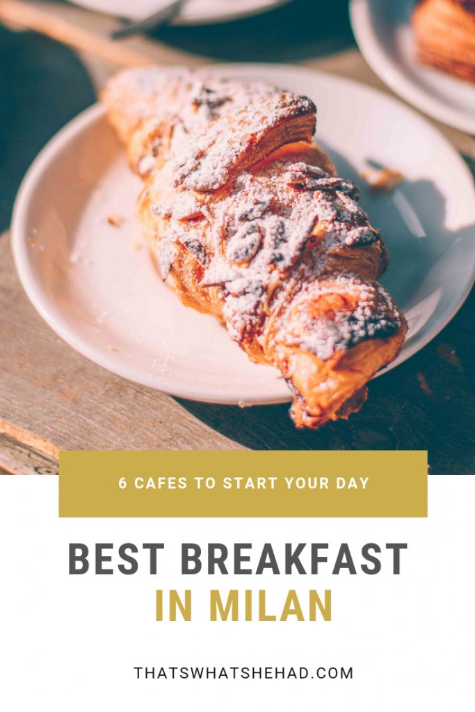 Looking for the best breakfast in Milan? Here are 6 restaurants in Milan that I tried and loved on my visit (Bonus: 5 more cafes recommended by locals!). These Milan cafes have some of the best coffee and brioches you'll ever try! #Milan #MilanItaly #MilanFood #MilanRestaurants