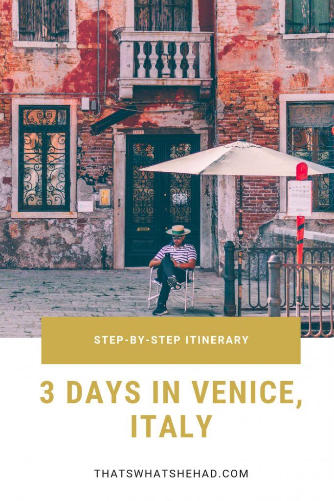 3 days in Venice, Italy, itinerary: things to do, best restaurants and tips for the first-time visitors. #Venice #VeniceItaly