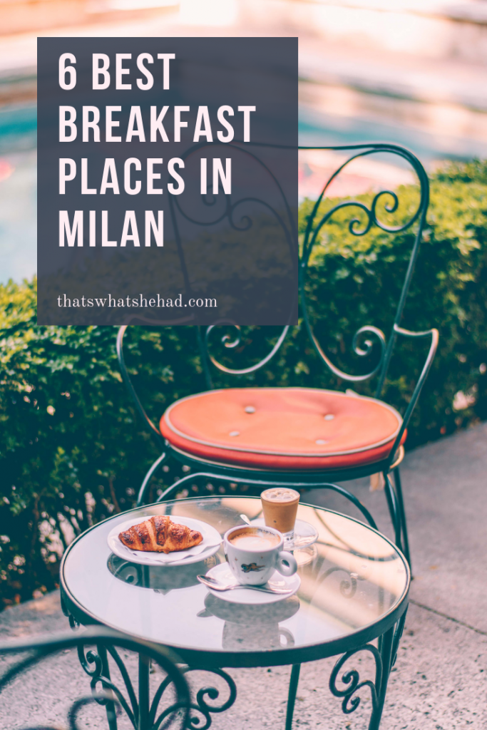 6 best breakfast places in Milan to start your day like a true Italian! Did you now that Italians usually have only a brioche and a coffee in the morning? Here are 6 cafes that serve the best breakfast food in Milan! #Milan #MilanItaly #MilanFood #MilanRestaurants #Milano