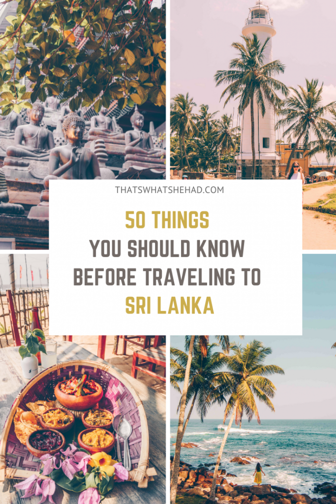 50 tips for the first-time travelers to Sri Lanka! My best tips after living on the island for 8 years! #srilanka #visitsrilanka #srilankatips