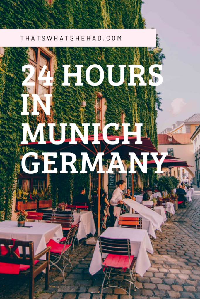 Only have 24 hours in Munich, Germany? Don't worry, you can cover a lot in only one day in Munich! From Marienplatz to Hofgarten to the famous surfers in the city center  — here's the most time-effective itinerary! I also included my favorite spots for food along the way! #Munich #Germany #GermanyTravel #Munchen #MunichThingsToDo #MunichFood