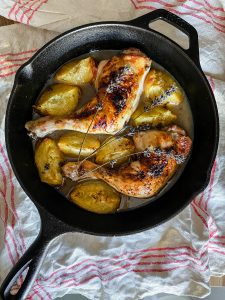 chicken-with-peaches-lavender
