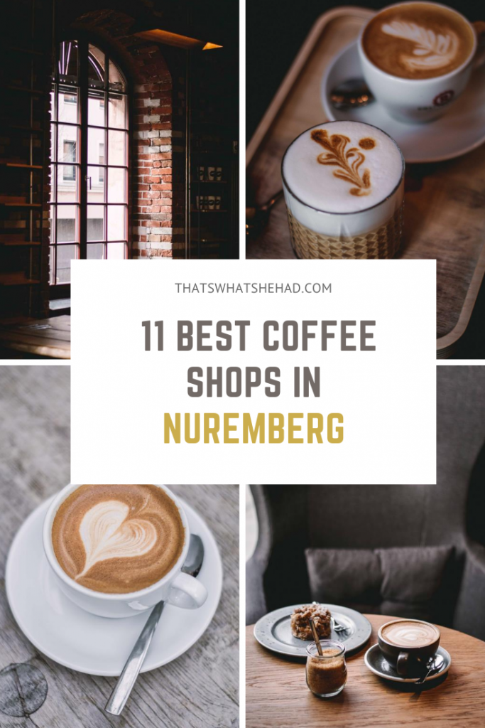 Where to try the best coffee in Nuremberg: 11 coffee shops that you should not miss and what to order there. #Nuremberg #Nurnberg #Germany #NurembergFood