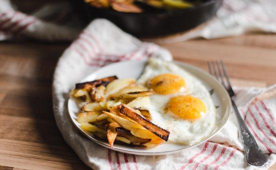 fried-potato-for-breakfast