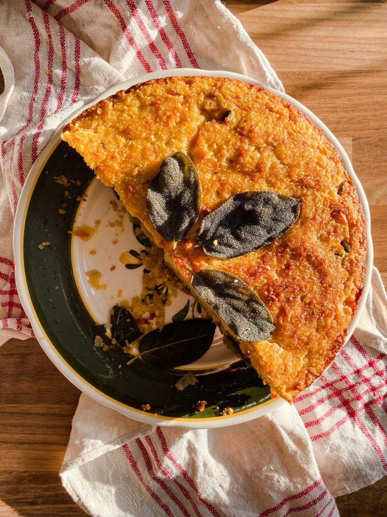 polenta-sage-cake