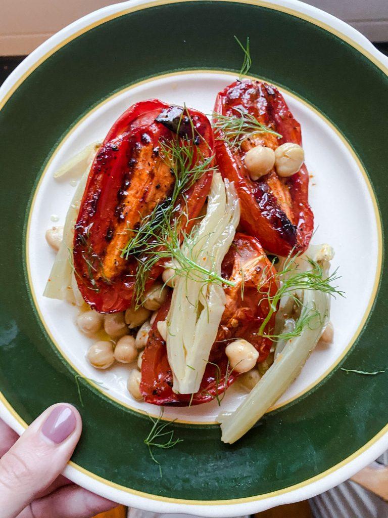 tomato-fennel-bake