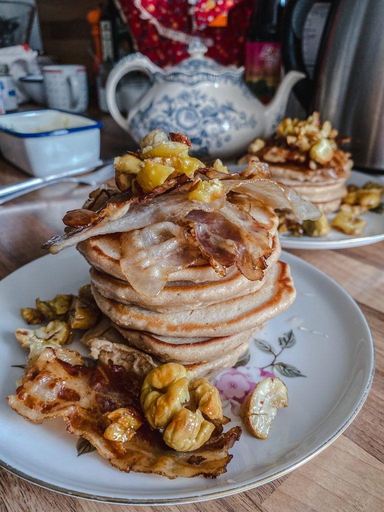 ricotta-chestnut-pancakes