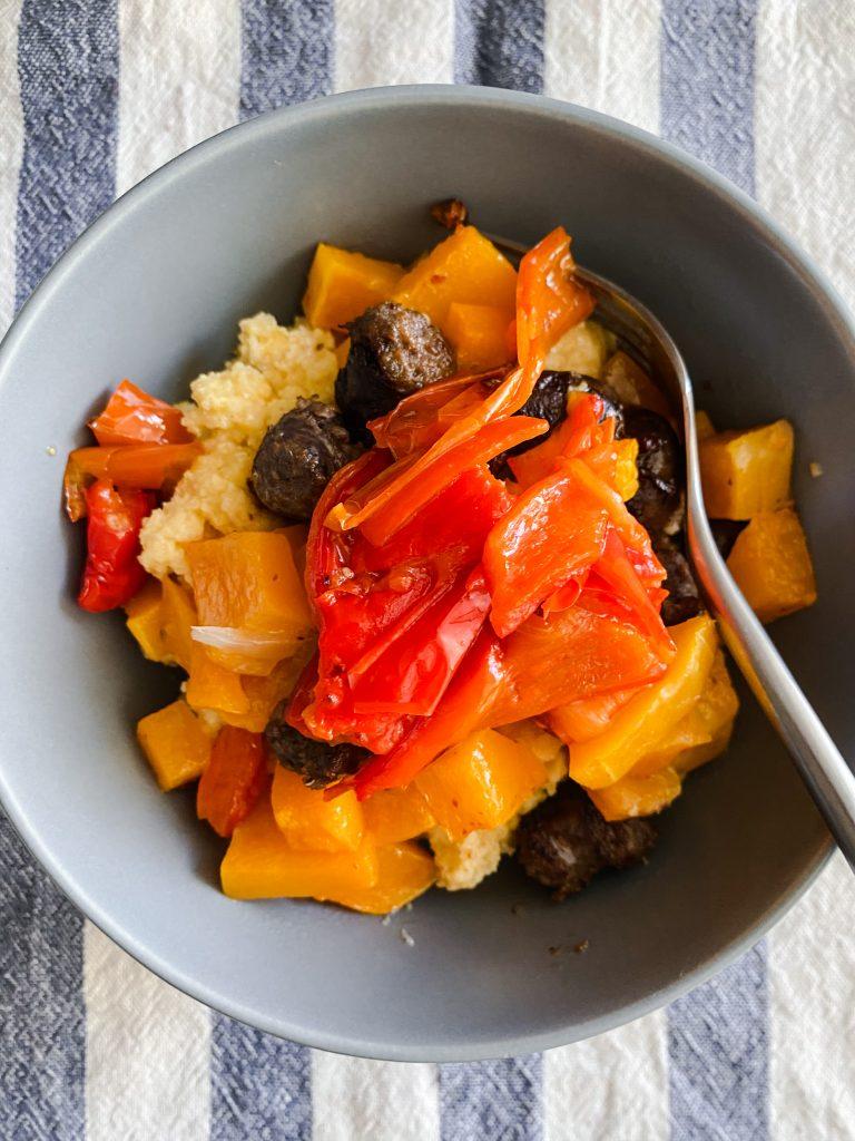 polenta-with-sausage-pepper