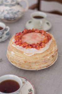 seasonal-crepe-cake-with-rhubarb