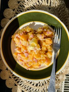 smashed-rutabaga-with-apple-and-ham