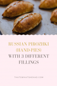 Russian pirozhki are hand pies made of enriched yeasted dough and stuffed with anything from mashed potatoes to berries to meat. In this recipe, I'll show you how to make pirozhki from scratch with 3 different fillings: spring onion, ramps and egg; spiced beef and rice; and mashed potato and caramelized onions. #Russia #RussianFood #pie