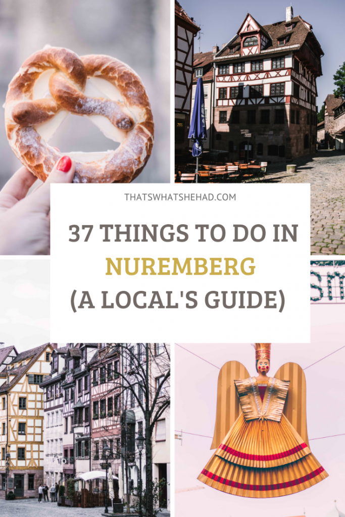 Nuremberg is one of the most visited cities in Germany, especially around Christmas time. Here's what to do in the city: from must see places to must try foods to WWII-related sights. Plus! I'll share how to spend a day like a local and some insider tips!